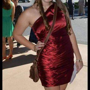Red semi dress/wedding dress